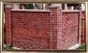 Dekorative Betonmauer OBR – Serie